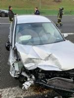 VENARIA - Pauroso incidente: auto finisce contro i jersey in cemento, ferito venariese del 98 - immagine 3