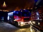 ALLARME INCENDI - Sessanta persone evacuate dai vigili del fuoco a Givoletto, Cafasse e Corio - FOTO - immagine 3