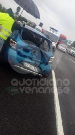 RIVOLI - Incidenti a raffica in tangenziale: bilancio di quattro feriti - FOTO - immagine 3