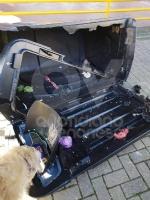 CRONACA - Ordinanza non rispettata: cassonetti esplosi e distrutta la statua della Madonna - immagine 3