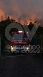 LA CASSA-GIVOLETTO-VARISELLA - Incendi boschivi: altra notte di grande paura - immagine 3