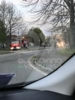 VENARIA - Auto va a fuoco in corso Papa Giovanni XXIII: illeso il conducente - immagine 3