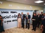 DRUENTO - Il presidente del Coni Malagò allinaugurazione della «Special Angels Disability Dance School» - immagine 3