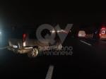 VENARIA-SAVONERA - Tamponamento fra due auto in tangenziale: due feriti, tra cui un 12enne - immagine 3