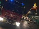 SAVONERA - Incendio alla «Green Up»: rifiuti bruciati dalle fiamme - immagine 3