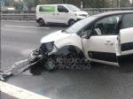 RIVOLI - Scontro fra due auto in tangenziale: disagi al traffico, ma nessun ferito - immagine 3