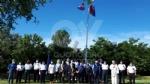 VENARIA - La bandiera dei marinai torna a sventolare nel cielo della Reale - FOTO - immagine 3