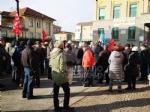 VENARIA - Protesta dei sindacati sotto il municipio: «Sui trasporti per il nuovo polo sanitario intervengano Regione e Prefetto» - immagine 3