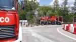 VENARIA - Camion perde il carico di sale di sodio: traffico in tilt nelle vie Stefanat e Cavallo - immagine 3