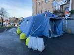 CORONAVIRUS - Allospedale di Rivoli e al Polo Sanitario di Venaria arriva la tenda pre-triage - immagine 3