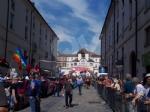 IL GIRO DITALIA A VENARIA - La partenza della tappa decisiva - FOTO e VIDEO - immagine 9