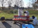 VENARIA - Sei panchine rosse per dire «NO» alla violenza sulle donne: dipinte dalla Factory - immagine 3