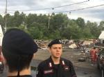 CAMPO NOMADI - Maxi blitz dei carabinieri contro roghi tossici e furti: 14 arresti - FOTO E VIDEO - immagine 3