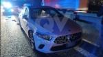 INCIDENTE IN TANGENZIALE - Scontro fra tre auto: una si ribalta, una persona ferita FOTO - immagine 3