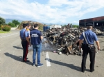 DRUENTO - Incendio al Cidiu: i carabinieri sequestrano trecento metri cubi di rifiuti - VIDEO - immagine 3