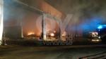 DRUENTO - Incendio ex Punto Ambiente: situazione sotto controllo dallalba - LE FOTO - immagine 3