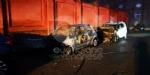 VENARIA - Cinque auto distrutte dalle fiamme in via Montello - immagine 3