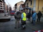 VENARIA - Voragine in strada: caos in viale Buridani - immagine 3