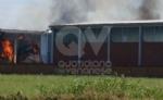 BORGARO-VILLARETTO - Azienda agricola in fiamme: bruciate 400 rotoballe di fieno - immagine 3