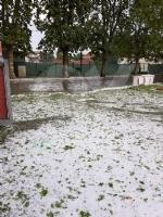 MALTEMPO - Grandine pioggia e vento nella nostra zona. Chicchi da 3 centimetri di diametro - FOTO - immagine 3