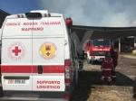 BORGARO - Incendio cascinale: proseguiranno fino a notte fonda le operazioni di messa in sicurezza - immagine 3