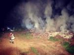 DRUENTO - A fuoco delle ramaglie in un terreno agricolo a ridosso della provinciale - immagine 3