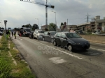 GRUGLIASCO - Tre feriti dopo il tamponamento a catena in corso Allamano - immagine 3