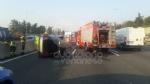 RIVOLI - Incidente in tangenziale, auto ribaltata: coinvolta attaccante della Juventus femminile - immagine 3