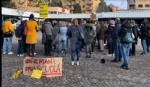 COLLEGNO - Sindaco, assessore e genitori davanti al municipio per dire «no» alla Dad - immagine 3