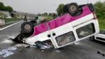 VENARIA REALE - Brutto incidente, tangenziale nord di Torino in tilt: due feriti al Maria Vittoria - FOTO - immagine 4