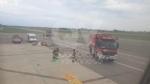 CASELLE - Fiamme sul volo Torino-Roma: evacuati tutti i passeggeri FOTO - immagine 4