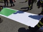 RIVOLI - Il «grazie» di Comune, forze dellordine, associazioni e pompieri al personale sanitario - FOTO E VIDEO - immagine 4