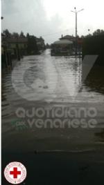 MALTEMPO - Bomba dacqua nella zona ovest: disagi anche sulla linea ferroviaria - immagine 4