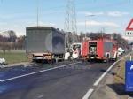 VENARIA - Scontro taxi-camion lungo la provinciale: un ferito FOTO - immagine 4