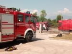 ROBASSOMERO - Esplosione alla A2A: chiusa la zona industriale, in arrivo lArpa FOTO E VIDEO - immagine 4