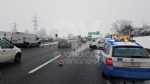 DELIRIO IN TANGENZIALE - Tir in panne e scontro tra due furgoni: caos e code chilometriche - immagine 4