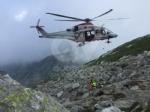 GRUGLIASCO - Escursionista cade rovinosamente per 40 metri: salvato  dal Soccorso Alpino - immagine 4