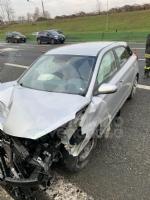 VENARIA - Pauroso incidente: auto finisce contro i jersey in cemento, ferito venariese del 98 - immagine 4