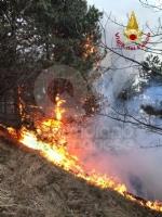A FUOCO IL MUSINE - Pompieri ancora in azione: potrebbe essere un atto doloso - FOTO - immagine 4