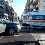 VENARIA - Ennesimo incidente allincrocio tra via Juvarra e via Palestro - immagine 4
