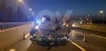 SAVONERA-COLLEGNO - Auto si ribalta: donna rimane bloccata a causa dellairbag - immagine 4
