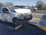 BORGARO - MAXI INCIDENTE IN TANGENZIALE: cinque auto coinvolte, un ferito portato in ospedale - immagine 4