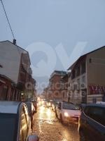 COLLEGNO-TORINO - Ancora un incendio al campo nomadi di strada della Berlia: traffico in tilt - immagine 4