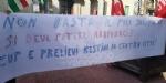 VENARIA - Protesta dei sindacati sotto il municipio: «Sui trasporti per il nuovo polo sanitario intervengano Regione e Prefetto» - immagine 4