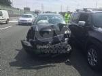 RIVOLI - Doppio incidente in tangenziale: sei auto coinvolte e cinque persone rimaste ferite - immagine 4
