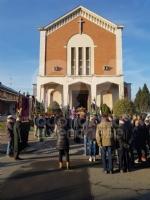 CAFASSE - Oltre 500 persone per lultimo saluto allex sindaco Giorgio Prelini. - immagine 4