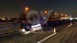 INCIDENTE IN TANGENZIALE - Scontro fra tre auto: una si ribalta, una persona ferita FOTO - immagine 4