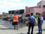 DRUENTO - Incendio al Cidiu: i carabinieri sequestrano trecento metri cubi di rifiuti - VIDEO - immagine 4