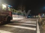 LA CASSA - Scontro tra furgone e auto in via Avigliana: cinque i feriti - immagine 4