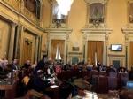 BORGARO - Una rossa sul suo «scranno»: la Città Metropolitana ricorda Vincenzo Barrea - immagine 4